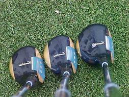Powerbilt Countess Lady Golf Clubs set Refurbished Woods Dri