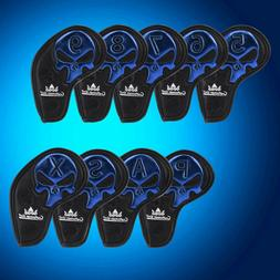 Craftsman Golf Iron Club Covers Skull Headcovers For Titleis