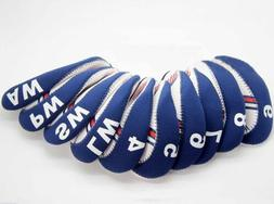 usa flag for golf iron head covers