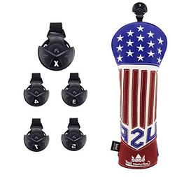 Craftsman Golf Extended version Red White Blue Star USA Golf