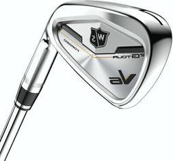 Wilson Staff FG Tour V6 Irons 4-PW,GW AMT Stiff RH
