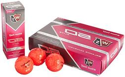 Wilson Staff Fifty Elite Golf Balls , Pink