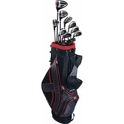 Top Flite 2017 XL 13-Piece Complete Set  Black/Red Left Hand