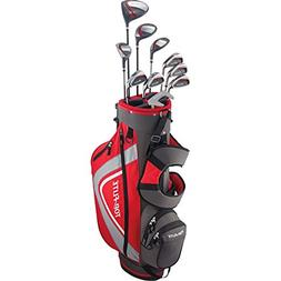 Top Flite Complete Golf Club Set Mens 2018 Red XL w/ 6-Way S