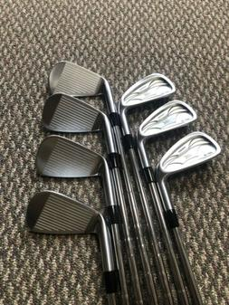New Level Forged PF-3 Prototype irons, 4-P, KBS Tour 105 S,