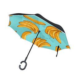 fruit bananas fun reverse umbrella