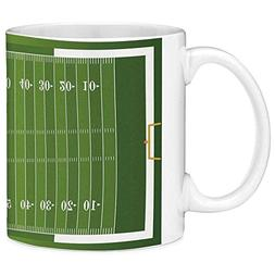 Funny Coffee Mug with Quote Football 11 Ounces Funny Coffee