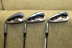 Ping G410 4-5-6 irons New Demo right hand black dot