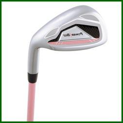 Powerbilt Girl's 7 Iron Ages 5 8 Golf Stick Right Hand PINK