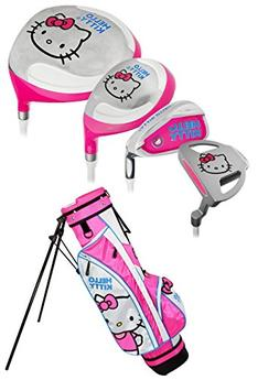 Hello Kitty Sports Girls Go! Junior Golf Set