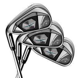 Callaway Golf 2018 Men's Rogue X Iron Set, Left Hand,  Stiff