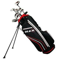 Ram Golf Accubar Golf Clubs Set - Graphite Woods and Steel S
