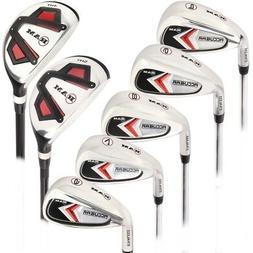 Ram Golf Accubar Mens Left Hand Graphite/Steel Iron Set 6-PW