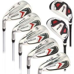 Ram Golf Accubar Mens Right Hand +1 Inch Iron Set 6-7-8-9-PW