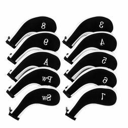 Golf Club Head Covers, Aeola Zipper Headcovers for Clubs Iro
