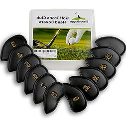 SteadyDoggie Golf Iron Covers Made with Durable Strong&Water