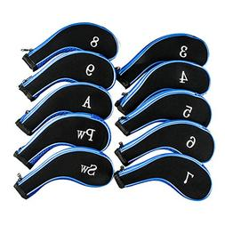 Golf Club Headcovers, Aeola Zipper headcovers for golf clubs