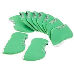 10pcs Golf Club Iron Head Cover Golf Iron Protector