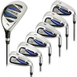 Ram Golf EZ3 Mens Left Hand Iron Set 5-6-7-8-9-PW - FREE HYB