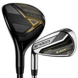 Cobra Golf F-Max Combo Iron Set 5h,6-PW,GW Regular Flex Grap