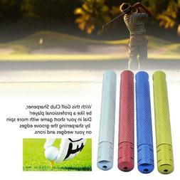 Golf Groove Edge Iron Wedge Club Sharpener Regrooving Cleani