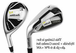 Tour Edge Golf Hot Launch 4 HL4 Hybrid/Rescue/Iron Combo Set