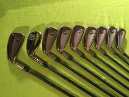 Prince, Golf irons, 3-9, pw and sw.