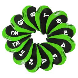 Andux Golf Irons Club Head Covers with Number Tags Pack of 1