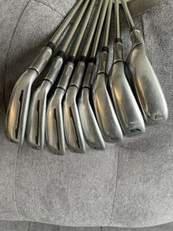 TaylorMade Golf M1 4-PW, AW Iron Set Regular Steel EX Shape
