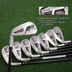 TaylorMade Golf M6 Iron Sets Choose Shaft-Steel/Graphite Fle