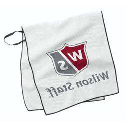 Wilson Golf Tour Towel White 16x36