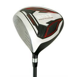 PowerBilt Golf TPS Supertech 10.5 Degrees Offset Driver, Bla