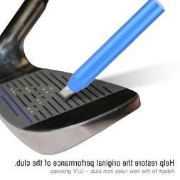 Golf UV Groove Edge Iron Wedge Club Sharpener Regrooving Cle