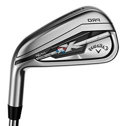 Callaway Men's XR Pro Irons, Steel, Right Hand, Stiff Flex,