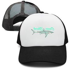 GOUDAI Green Shark Mens Free-Size Mesh Sun Hat
