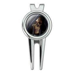 Grim Reaper Dead Death Fantasy Golf Divot Repair Tool and Ba