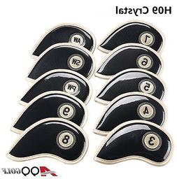 A99 Golf H09 Crystal Iron Cover Black 10pcs/set