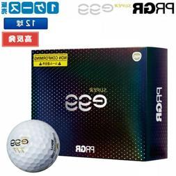 PRGR High Resilience Ball NEW SUPER egg BALL GB1031 12 Balls