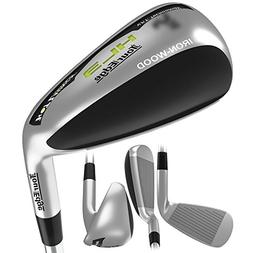 Tour Edge Men's HL3 Iron-Wood, Right Hand, Stiff, Steel, 2 H