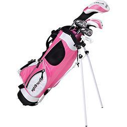 Tour Edge Ht Max-J Junior Golf Sets Wd/3 Irns/Putter/Bag Rig