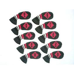 HUGELOONG Golf Club Head Covers Knit 10Piece Iron Set Sports