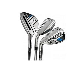 Adams Golf Men's New Idea Iron Set, Left Hand, Graphite, Reg
