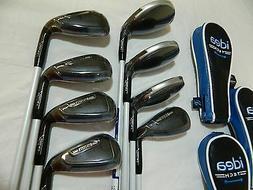 Adams Golf Men's New Idea Tech Hybrid Irons, Right Hand, Gra
