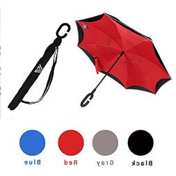 Inverted Umbrella with Automatic Open by Vitchelo - Up Side