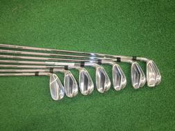 Cobra IR KING F7 CL BK Steel Regular 5-GW Golf Iron Set, Rig