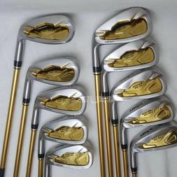 Irons Golf Clubs HONMA S-05 4 star Irons Set 4-11 Sw Aw Grap