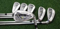 TaylorMade Golf M2 2017 Iron Sets - LEFT HAND - 5-PW REAX St