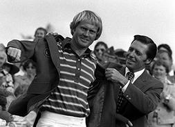 Jack Nicklaus Wins 4th Masters T Shirt Iron On 8 x 10 Photo