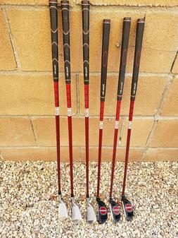 """Junior 9-11 yr old Putter 30"""" PW 31.5"""" 7 Iron 33"""" Kids Golf"""