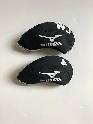 10PCS Iron for Mizuno Covers Black&Black
